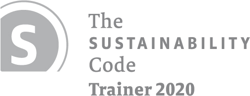 Summary Beate Röcker (Roecker) is trainer for the German Sustainability Code